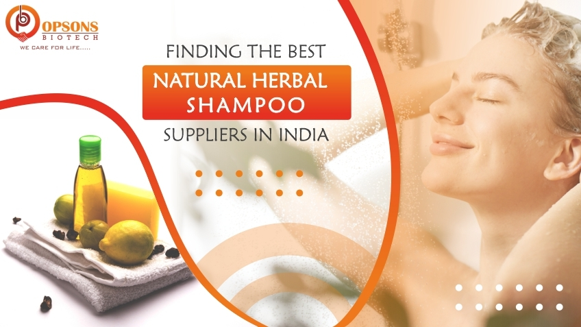 natuaral herbal shamboo suppliers in india