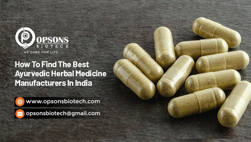 Best Ayurvedic Herbal Medicine Manufacturers In India
