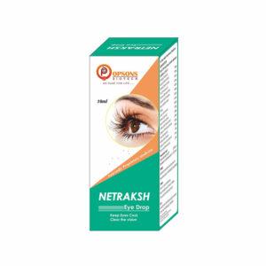 Netraksh Regular Herbal Eyedrop (10ml)